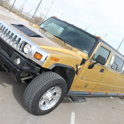 Hummer H2 Oro 16 pax