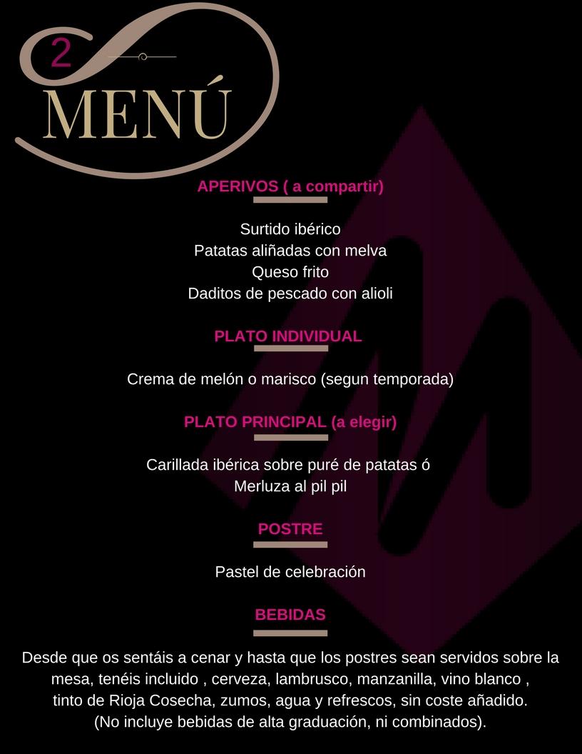 Restaurante Arteserrano menu 2