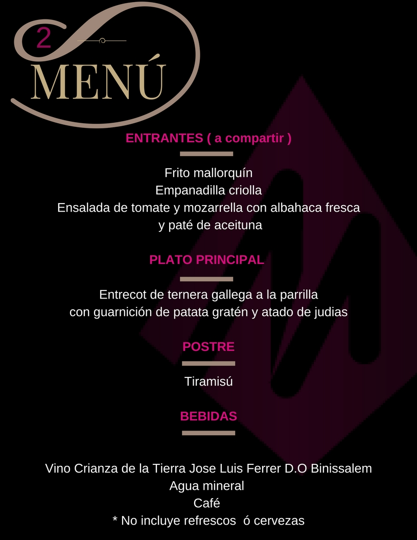Restaurante Asadito menu 2