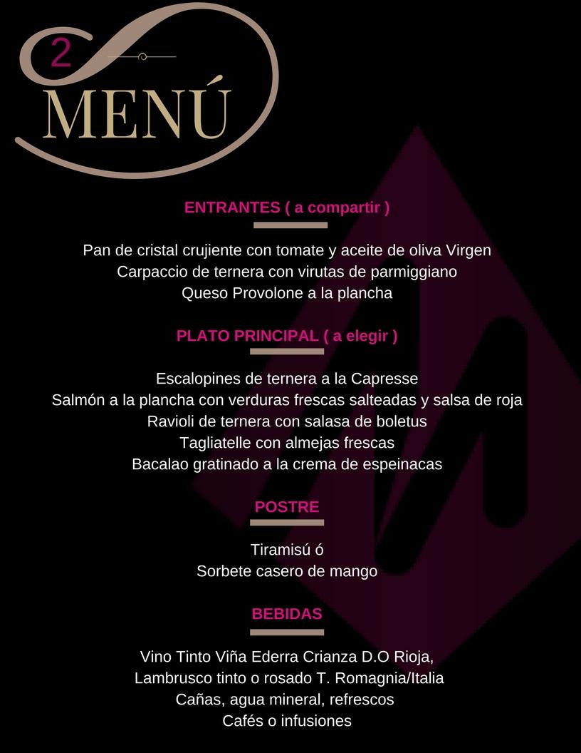 Restaurante Picola Italia menu 2