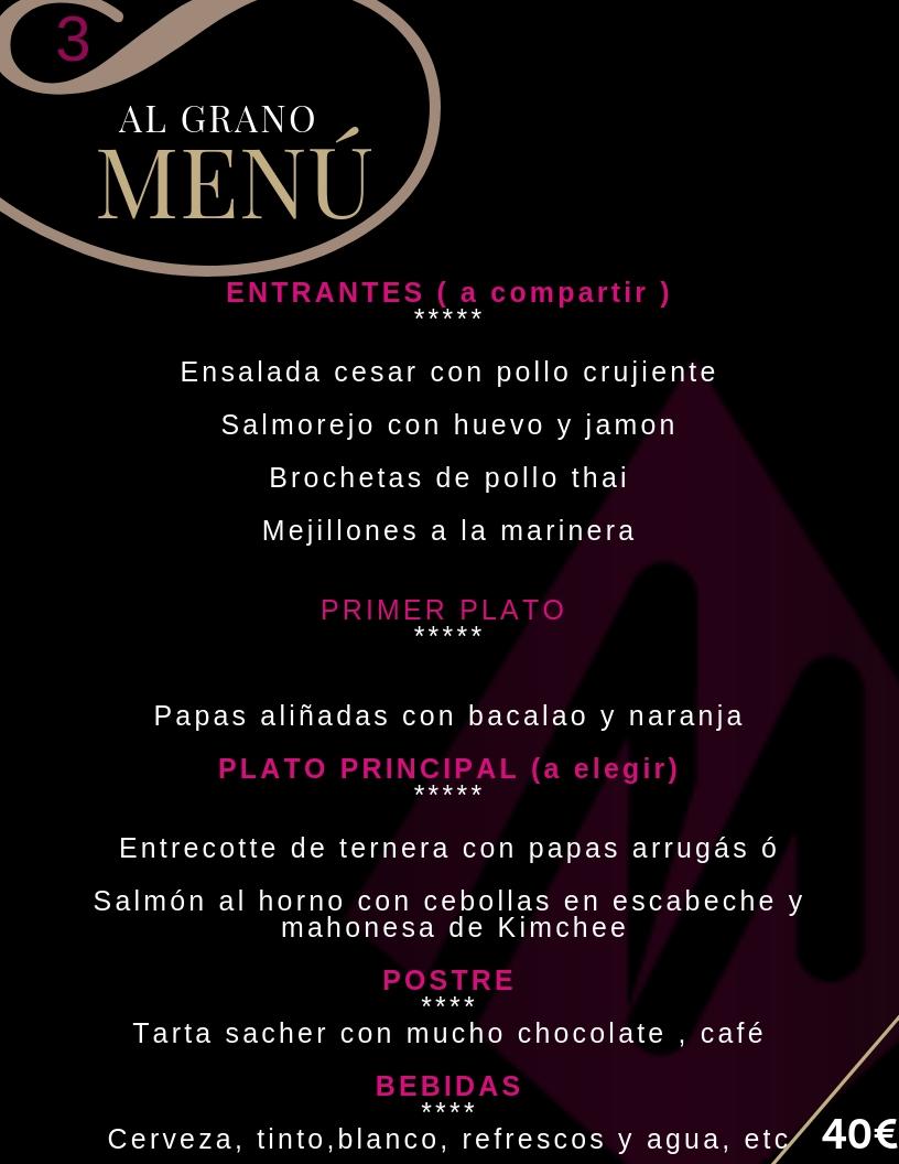 Restaurante para grupos en Cordoba - Al Grano - Martin Espectaculos