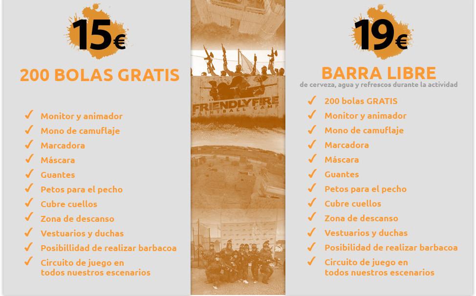 Martin Espectaculos Tarifas Paintball Sevilla Friendly Fire