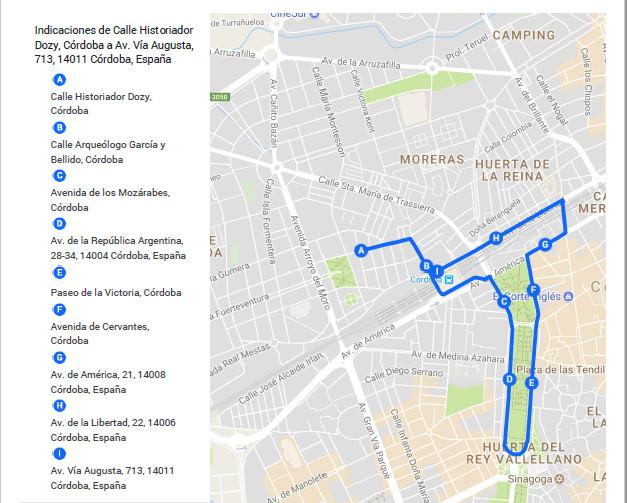 Ruta Be Bike Córdoba