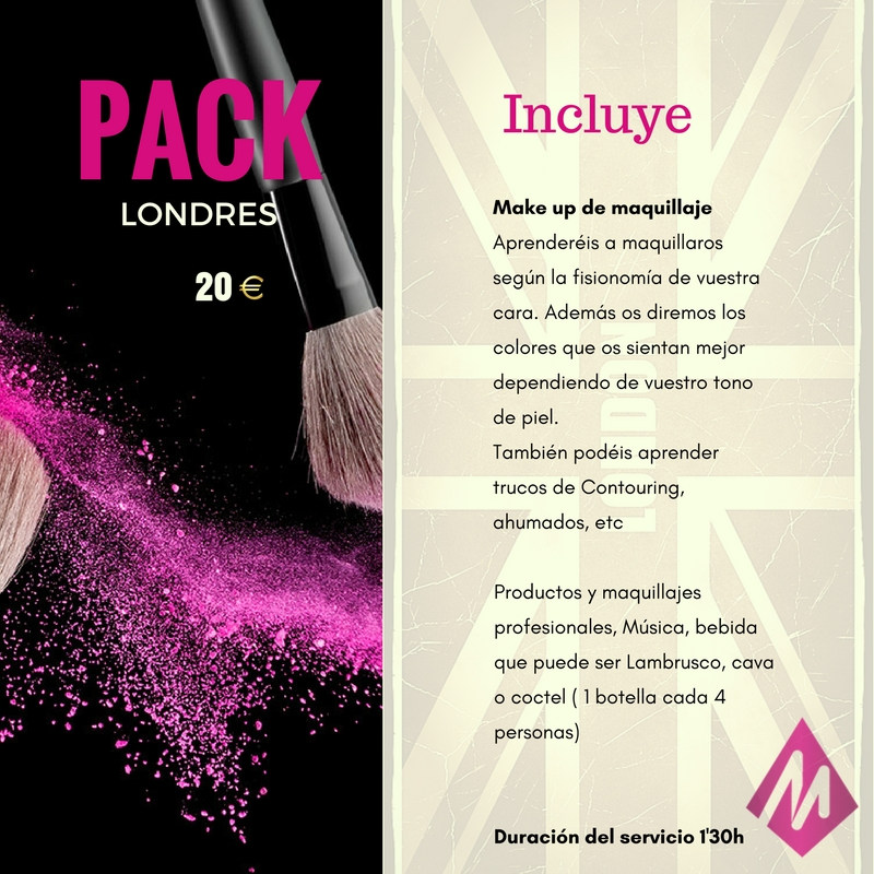 Beauty Party en Sevilla | Pack Londres | Martin Espactáculos