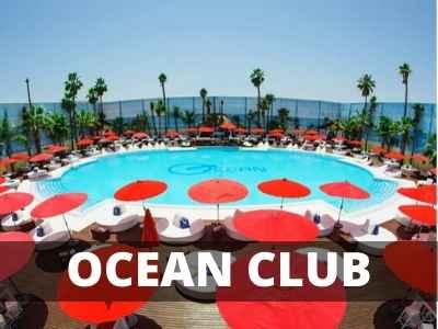 ocean club despedidas