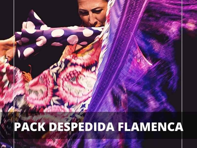pack despedida flamenca sevilla
